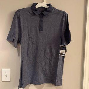 Men's Golf Polo T-Shirt Heather Blue